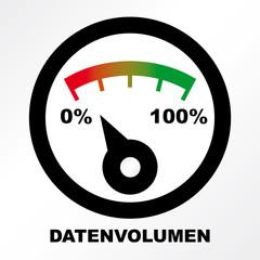DSL-Bremse, Tempobremse, Datenvolumen