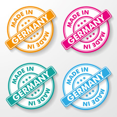 Made In Germany Paper labels