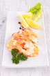 shrimp with lemon and parsley