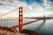 Leinwanddruck Bild - Golden Gate Bridge, San Francisco