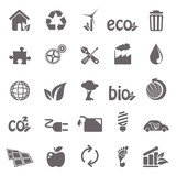 Ecology basic icons