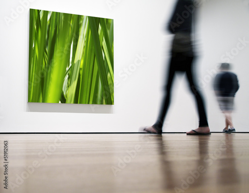 canvas print picture Ausstellung