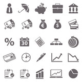 Economic basic icons