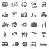 Travel basic icons