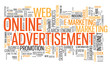 ONLINE ADVERTISEMENT Tag Cloud (e-marketing online advertising)