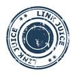 Link Juice concept stamp
