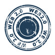 Web 2.0 stamp