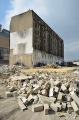 démolition à Pantin