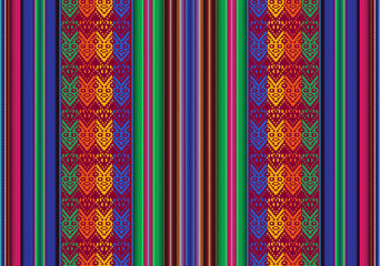 Bolivian seamless pattern