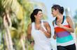 Sports women running outdoors