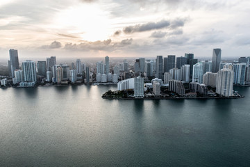 Miami from the air