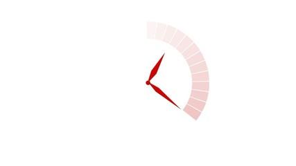 Temps qui passe - rouge