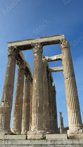 ruins in athens greece
