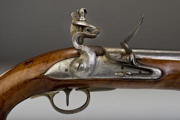 17th century English Tower flintlock pistol.