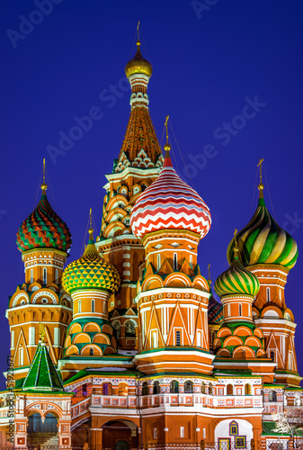 St. Basils Cathedral at night
