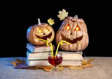 Pumpkins & Lanterns