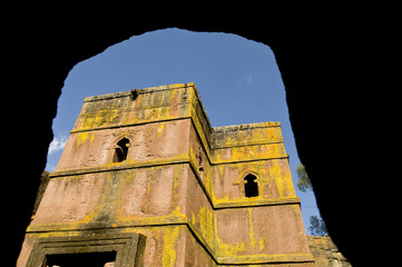 bet giorgis (st george) church, lalibela ethiopia
