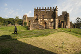 the palace of gondar, ethiopia