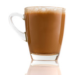 Teh Tarik , milk tea that is very popular in malaysia with morni