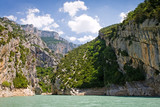 St. Croix Lake, Les Gorges du Verdon in Provence, France