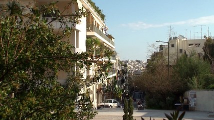 View of Athens street.