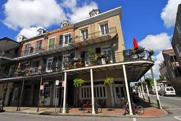 La Nouvelle Orleans, balcons