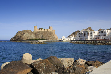 Al-Jalali fort in Old Muscat