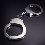 handcuffs - clipping path