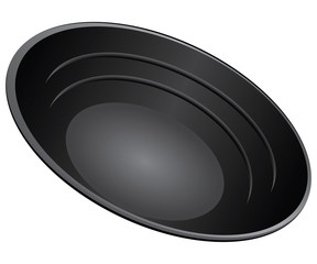 Gold Pan Plastic