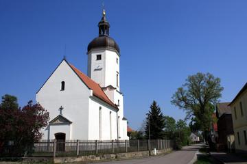 Kirche von Rehbach bei Leipzig