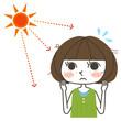 女性と紫外線