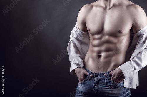 Fototapeten,mann,unterleib,sexy,körper