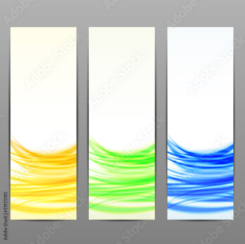 Wave color backgrounds