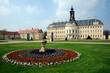 Wermsdorf Schloss Hubertusburg im Frühling