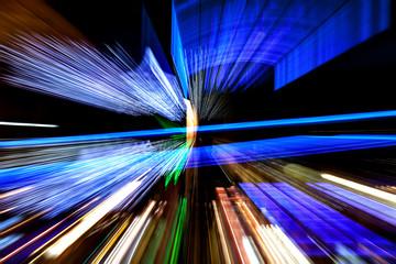 dynamic light blur
