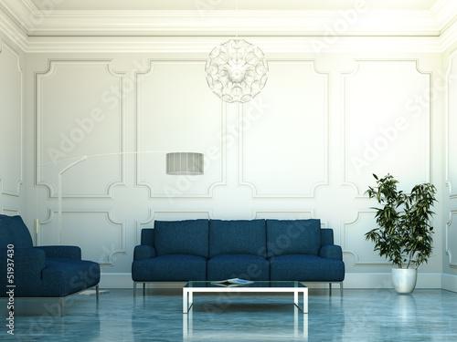 Wohndesign - Luxus Wohnzimmer