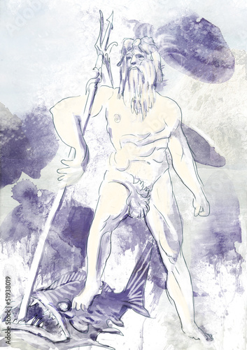 Poseidon - Is one of the twelve Olympian deities of the pantheon