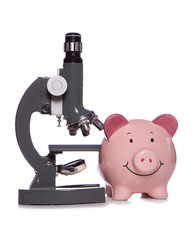 Budgeting money for scientific research