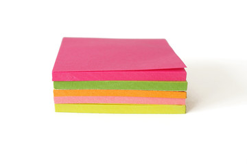 Stack of Sticky Note Pads