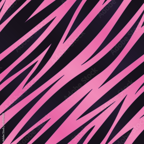 Pink Zebra Striped Background