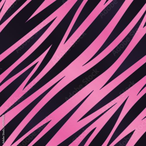 Pink Zebra Striped Background