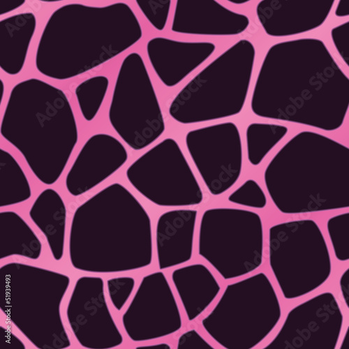 Pink Giraffe Spotted Background