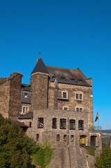 Old German castle rebuilt in the hotel.