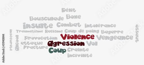 Nuage de Tags : Violence