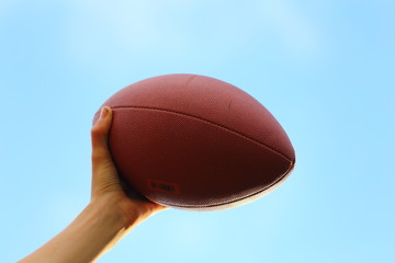 Throwing Football