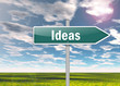 "Signpost ""Ideas"""