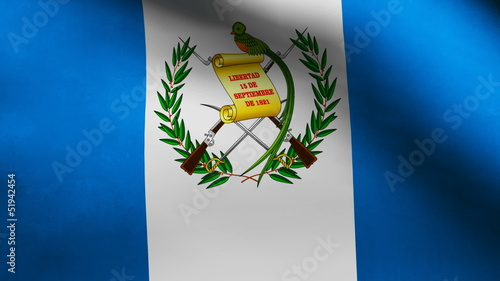 Guatemala country flag