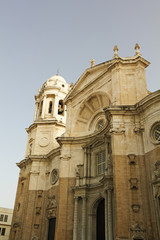 New Cathedral on Cadiz.