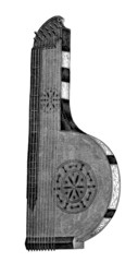 Music Instrument : Cithar - 17th century