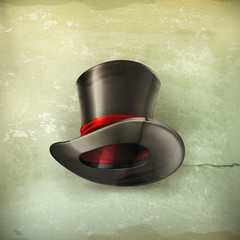 Cylinder hat, old style
